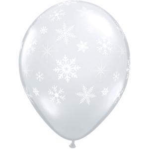 """11"""" (28 cm) Snöflingor Och Glitter"""