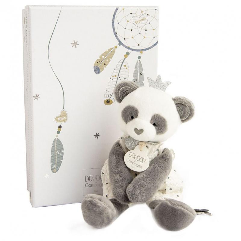 Drömfångare Panda - 20 cm - i fin presentlåda