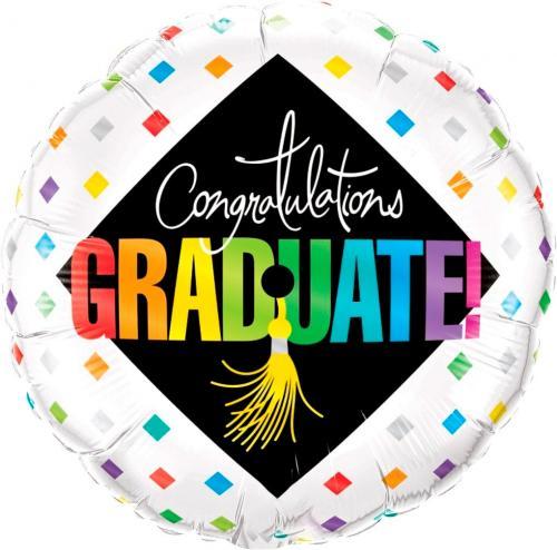 "18"" (46 cm) Congratulations Graduate"