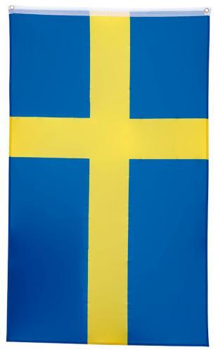 Sveriges flagga som festflagga