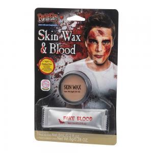 Skin wax & Fake Blood