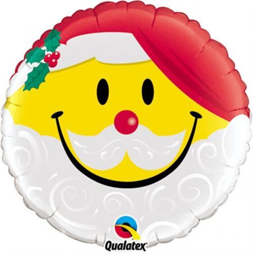 "18"" (46 cm) Smiley Santa Face"