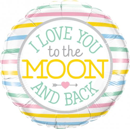 "18"" (46 cm) I Love You To The Moon"