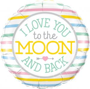 """18"""" (46 cm) I Love You To The Moon"""