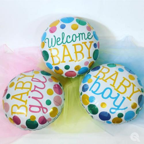 "18"" (46 cm) Baby Girl Dots"