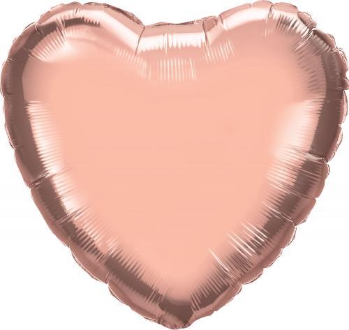"""36"""" (90 cm) Hjärta Rosé"""