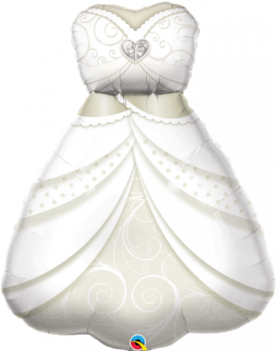 """38"""" (96 cm) Brudklänning"""
