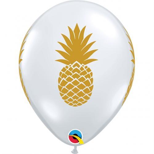 "11"" (28 cm) Genomskinlig Ananas"