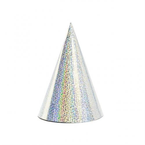 Partyhattar Holografiska Silver