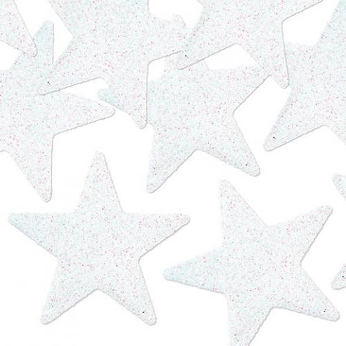 Glittriga Stjärnor Vit
