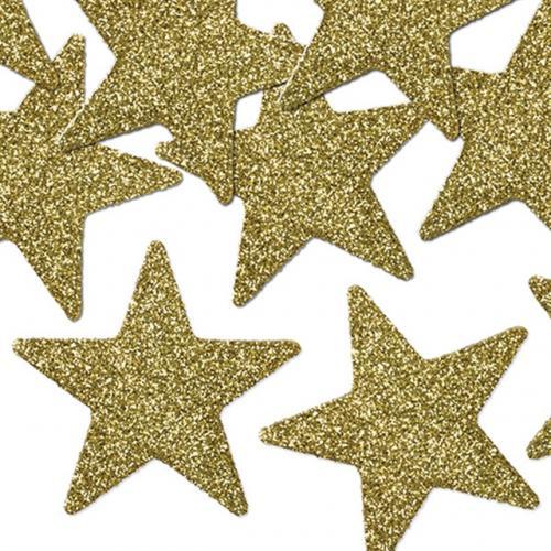 Glittriga Stjärnor Guld