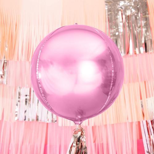 """16"""" (41 cm) Folieballong Rosa"""