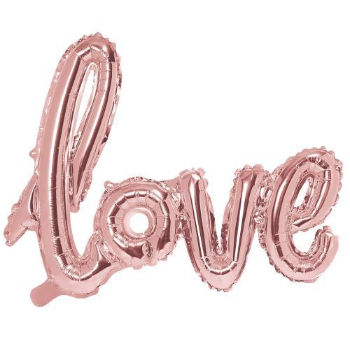 Love Skrivstil Roséguld