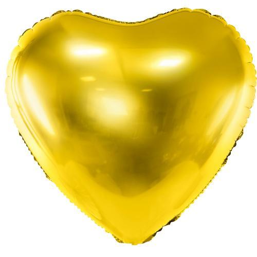 "24"" (61 cm) Hjärta Guld"