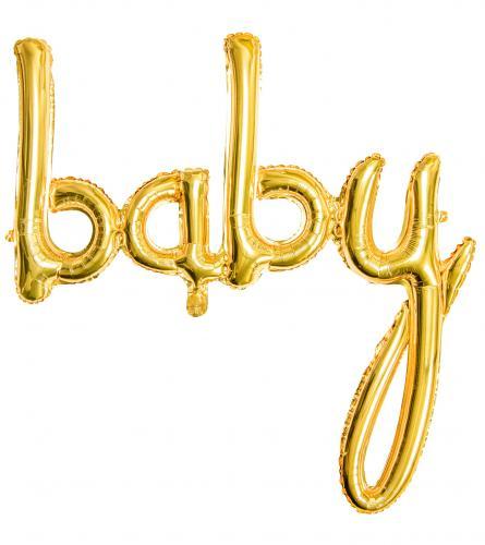 Baby Skrivstil Guld