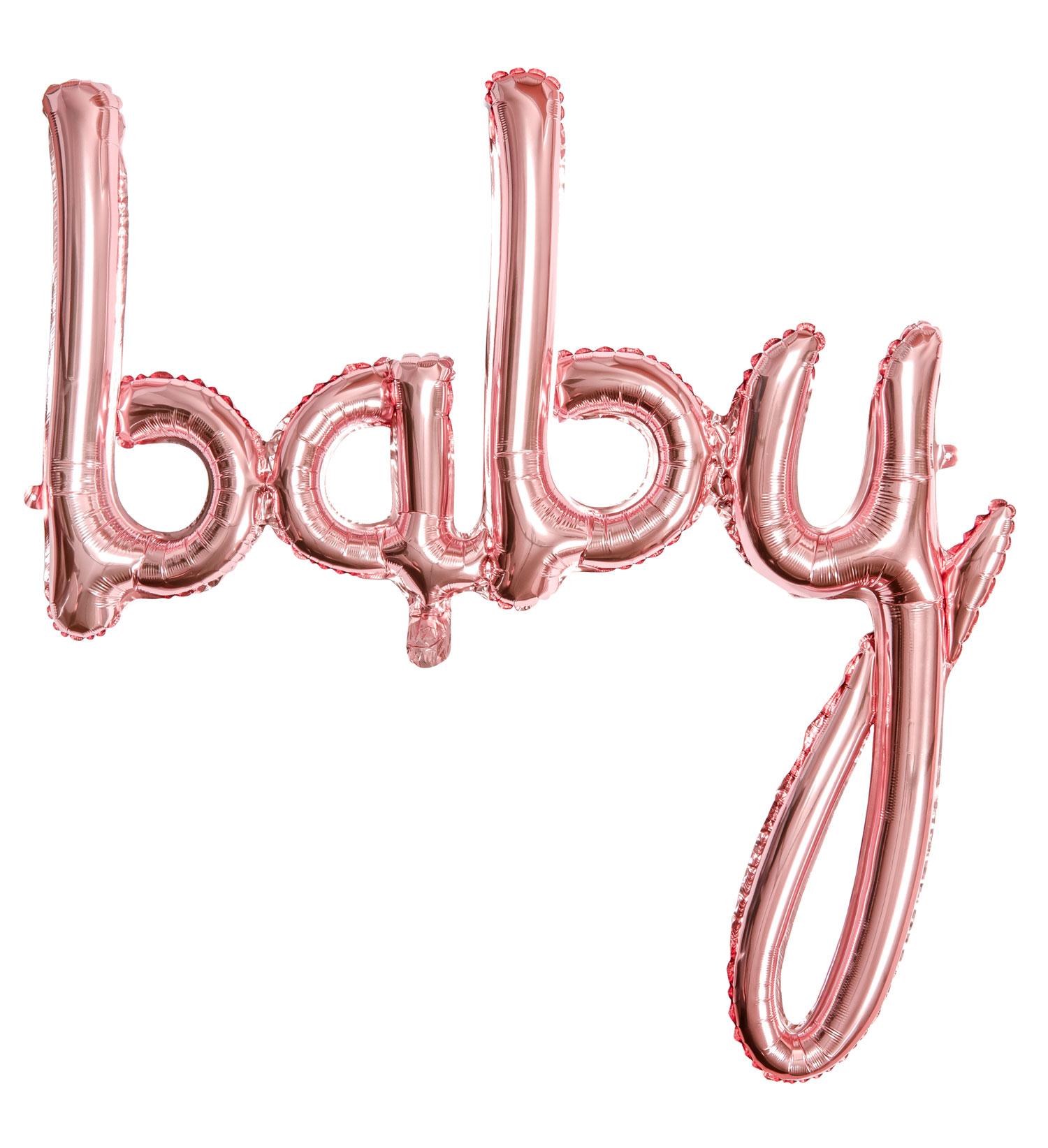 Baby Skrivstil Roséguld