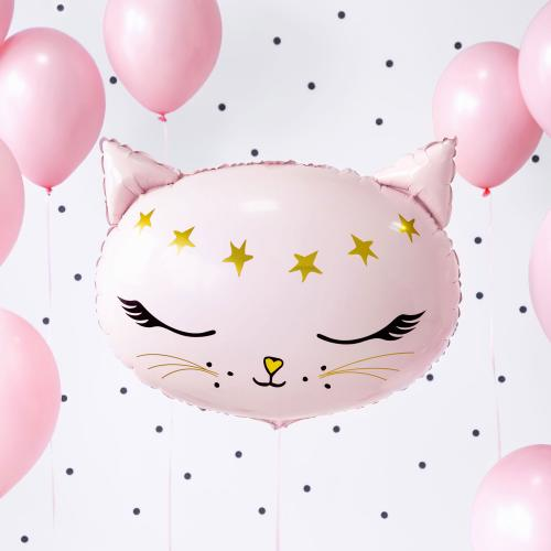 """19"""" (48 cm) Rosa Katt"""