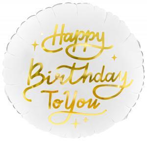 """14"""" (35 cm) Happy Birthday"""