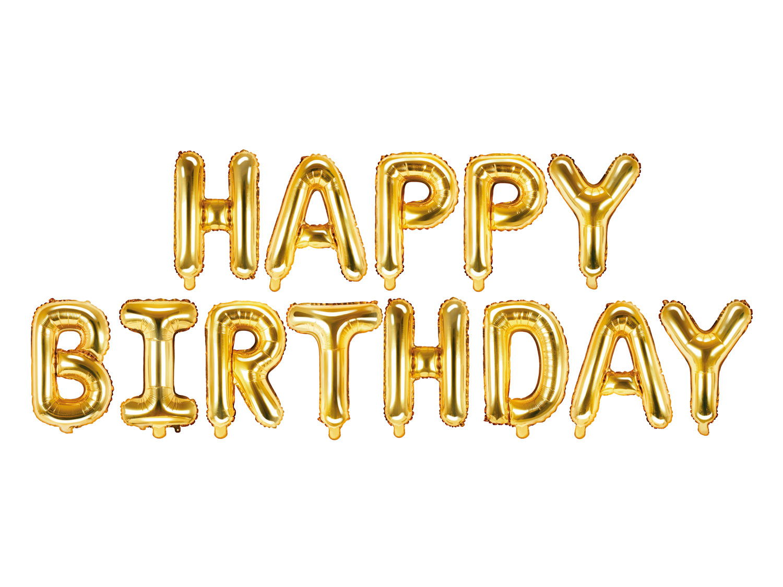 Happy Birthday Guld