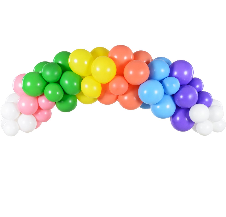 DIY Ballonggirlang Regnbåge
