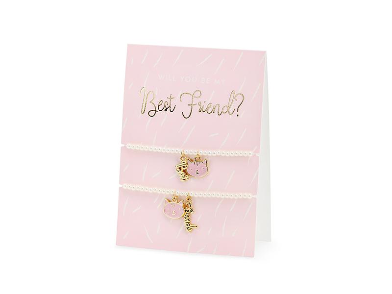 """Kort med Armband """"Best Friends"""""""