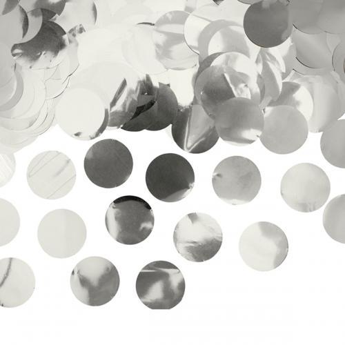 Ballongkonfetti Silver