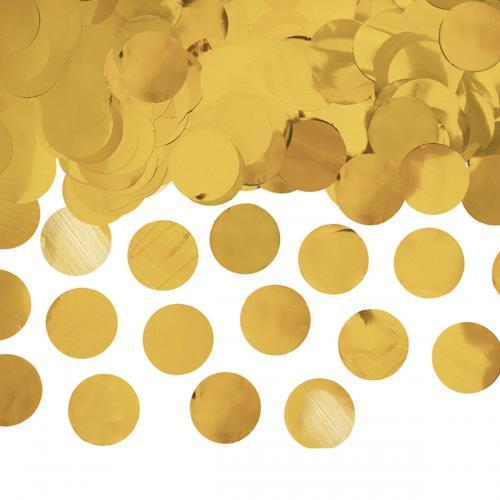 Ballongkonfetti Guld