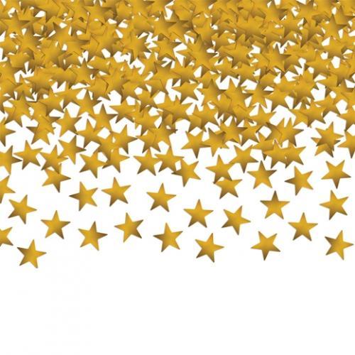 Konfetti Små stjärnor Guld