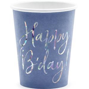 Pappersmugg Happy Birthday 220 ml