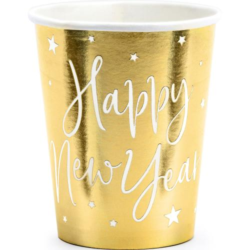 "Pappersmugg, ""Happy New Year"""