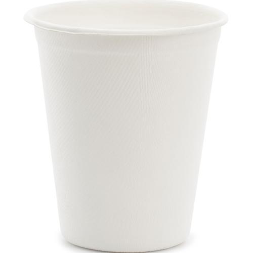 Pappersmugg Sockerrör Vit 250 ml
