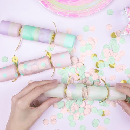 Konfettismällare, pastell