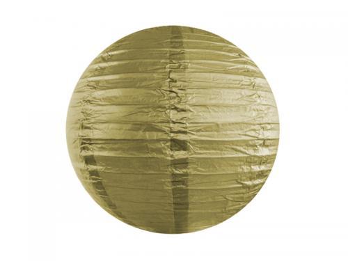 Glittrig lykta guld 20 cm