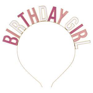 Diadem Födelsedagstjej