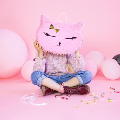 Piñata Katt