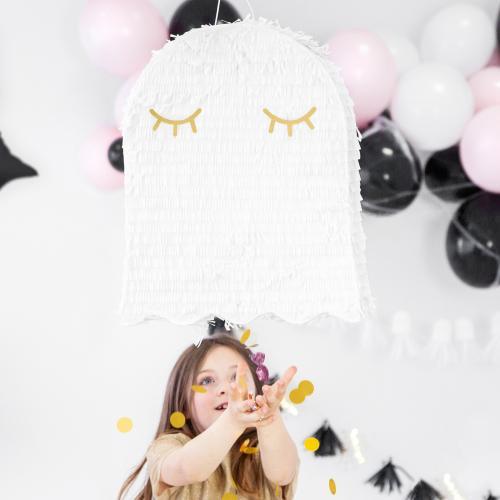 Piñata Spöke Vitt
