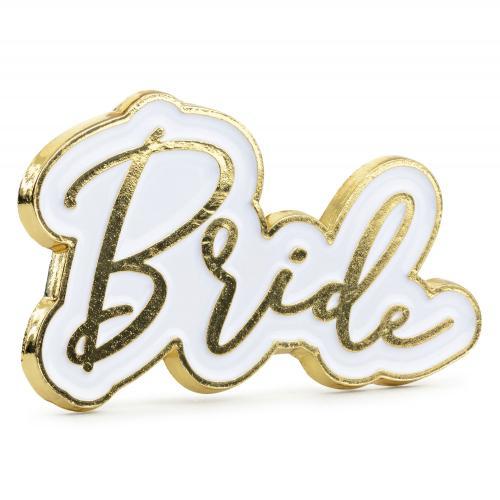Emaljpin Bride