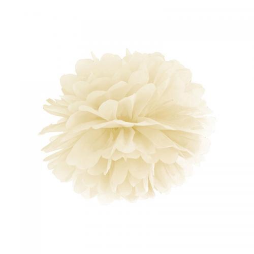 Pom Pom 25 cm Crème