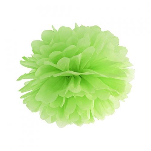 Pom Pom 25 cm Limegrön