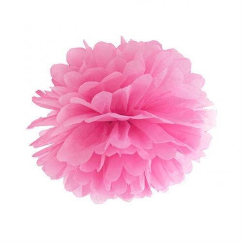 Pom Pom 25 cm Rosa