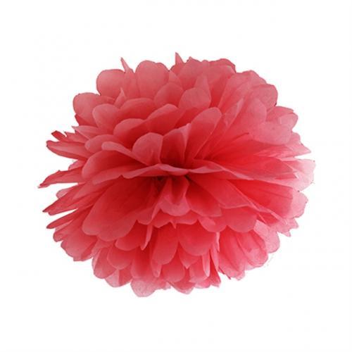 Pom Pom 25 cm Röd