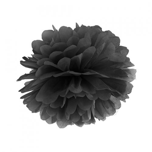 Pom Pom 25 cm Svart