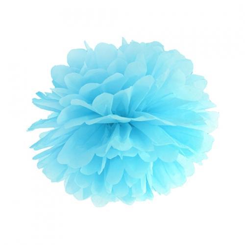 Pom Pom 25 cm Ljusblå