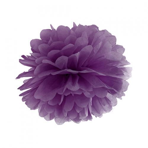 Pom Pom 25 cm Lila
