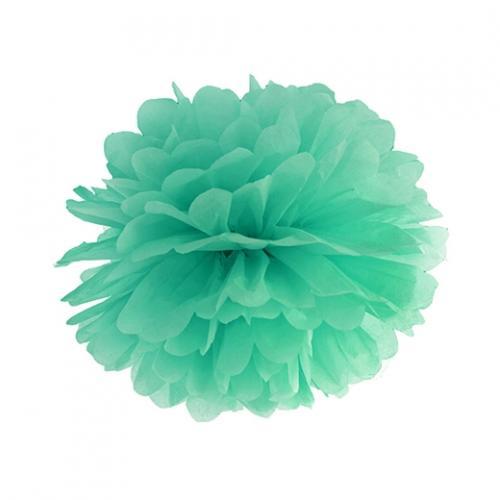 Pom Pom 25 cm Mintgrön