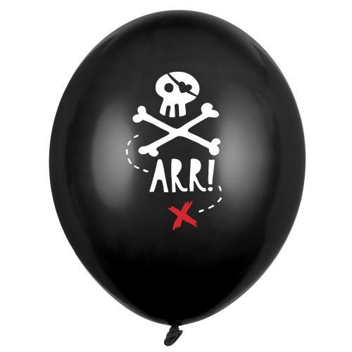 Piratballonger 6-pack