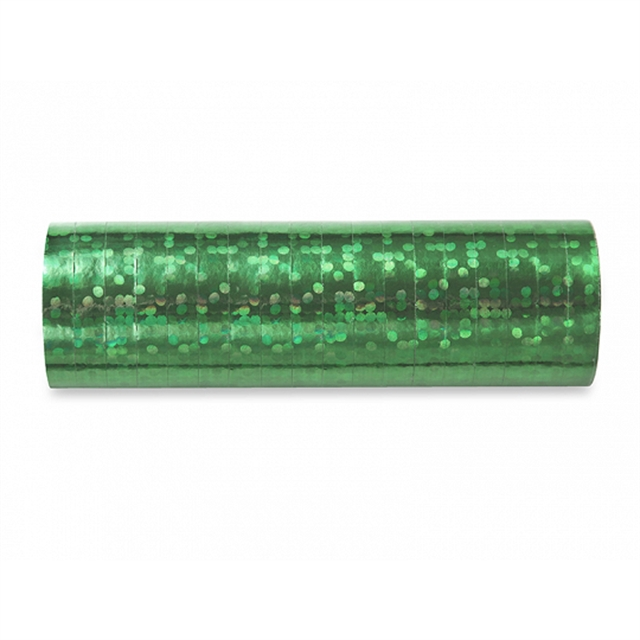 Holografisk Serpentin Grön