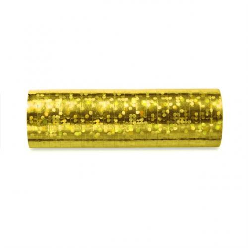 Holografisk Serpentin Guld