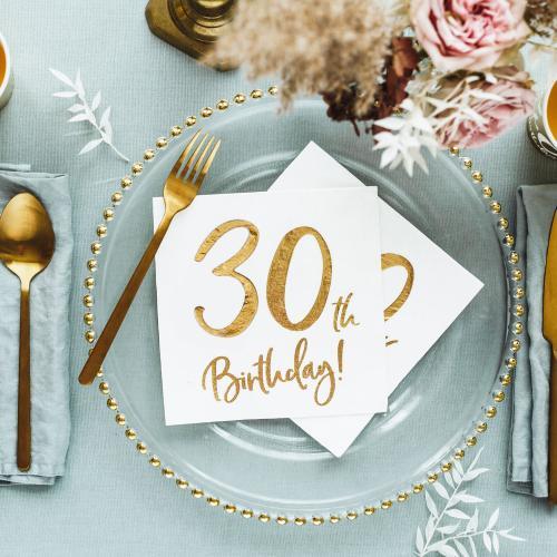 Servetter 30-årsdagen