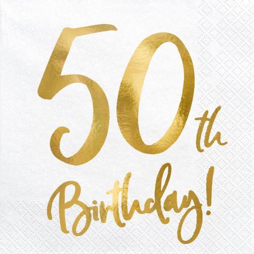 Servetter 50-årsdagen